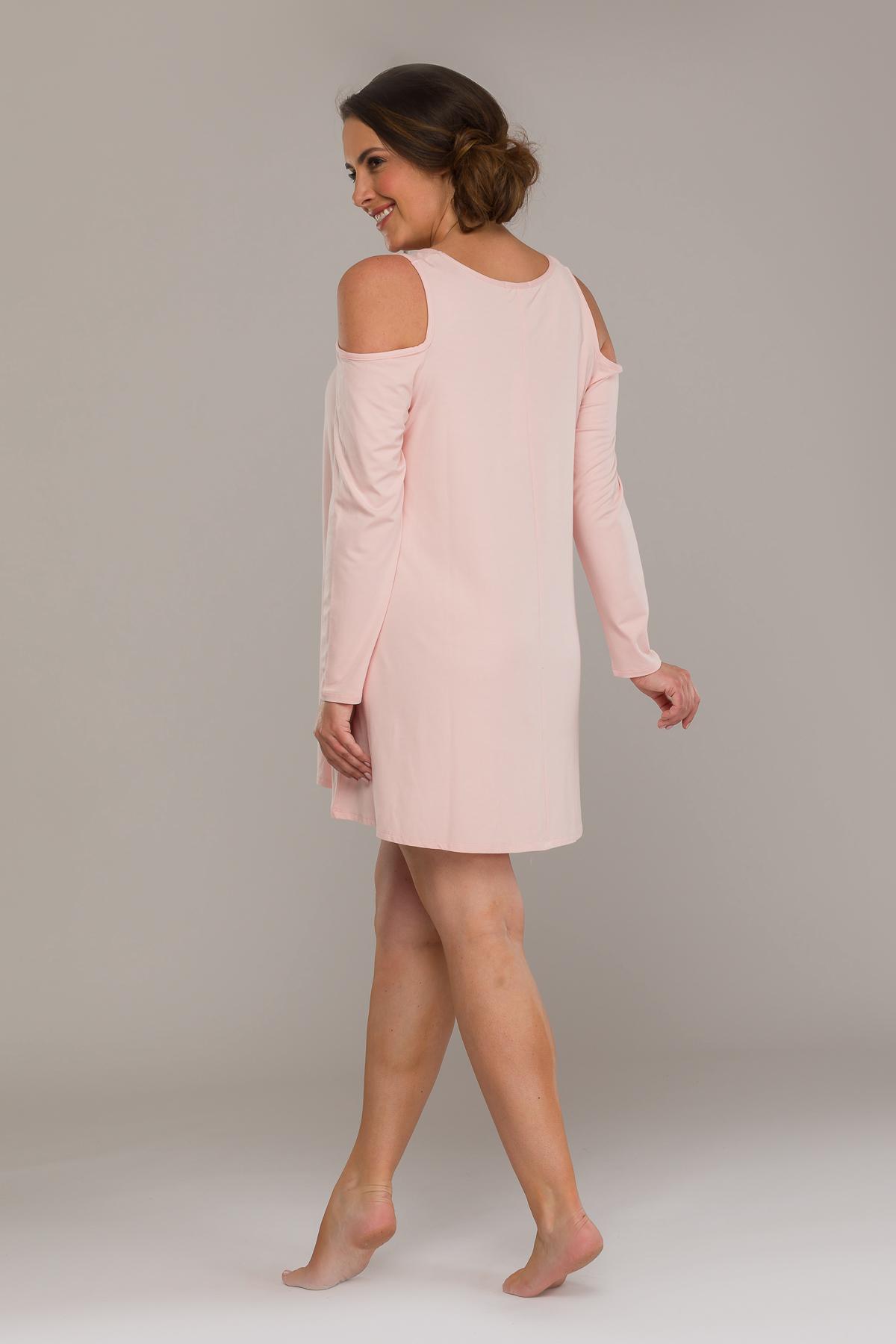 AURORA COLD SHOULDER DRESS ROSA