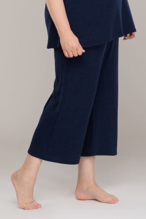 ALANI CULOTTE TROUSERS NAVY